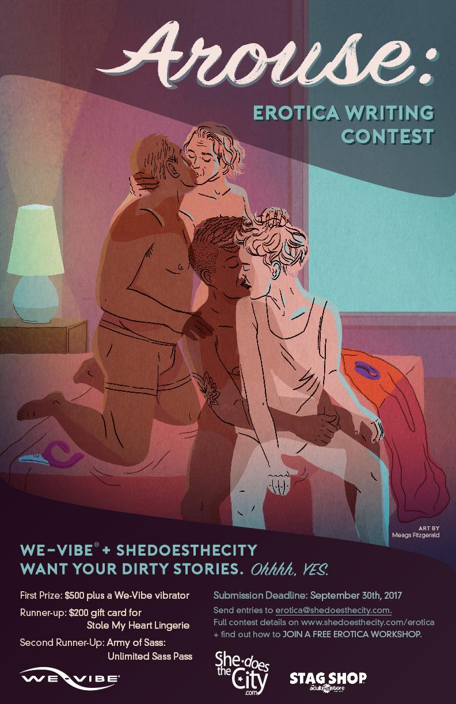 Arouse: Erotica Writing Contest