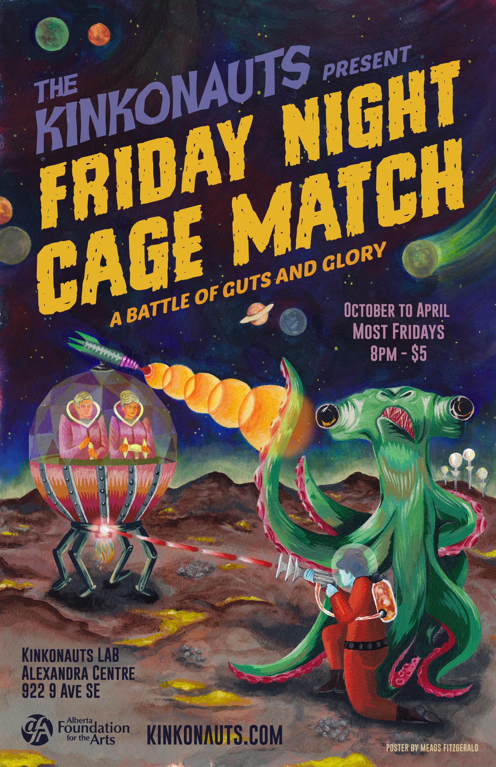 Friday Night Cage Match