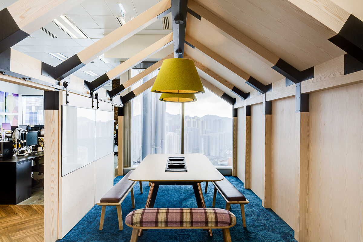 Office Designed by PDM International Hong Kong