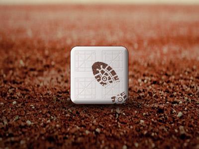 Baseball app icon