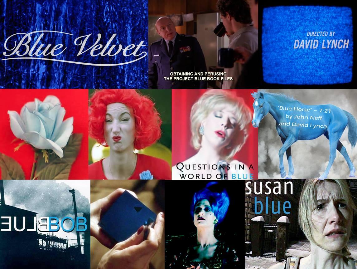 Blue in Lynch's works