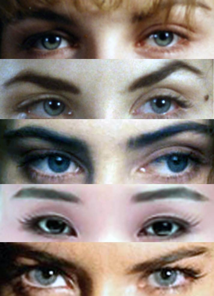 The Eyes of the Ladies of Twin Peaks