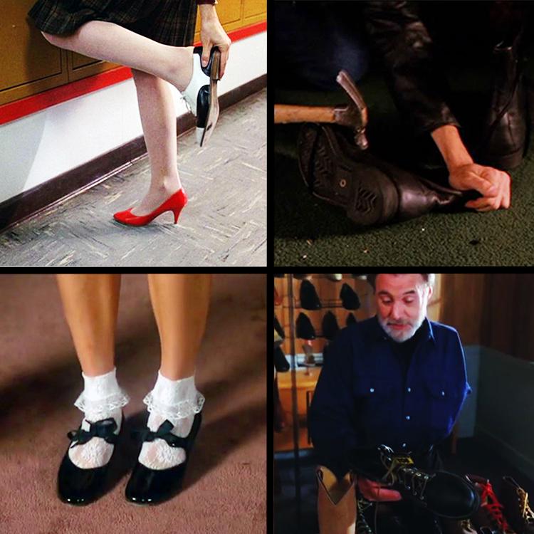 Shoes as a motif in Twin Peaks