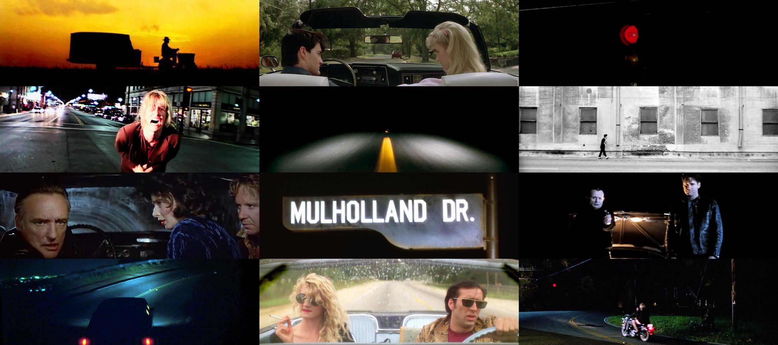 Roads as a Motif in Lynch's films