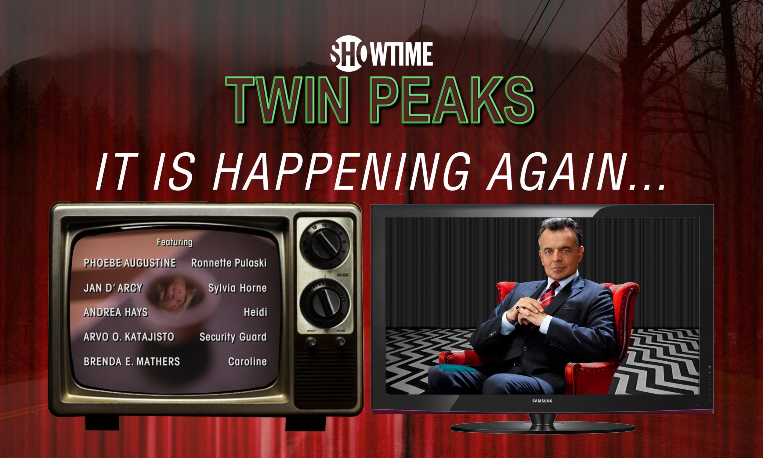 """Mock  Twin Peaks  """"Season 3"""" Poster #2"""