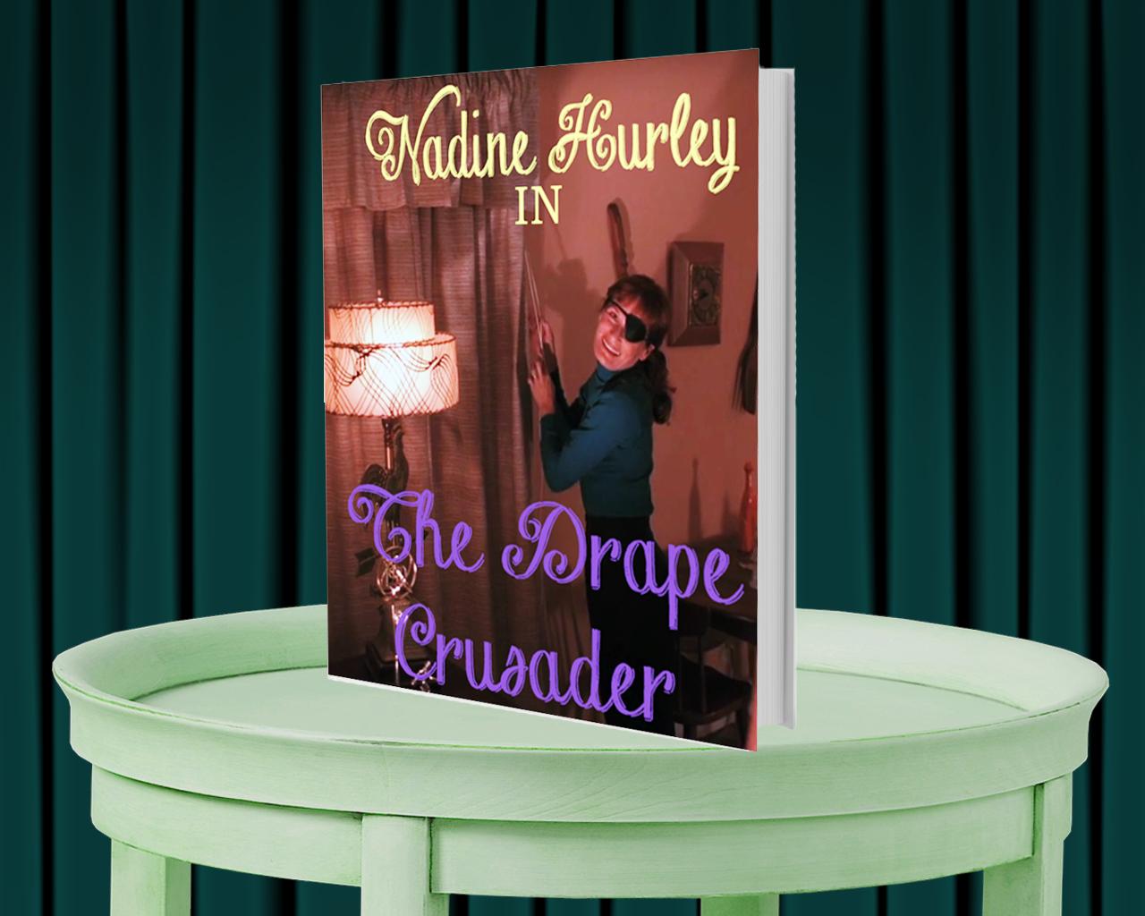 Mock book-cover starring  Twin Peaks  character,  Nadine Hurley