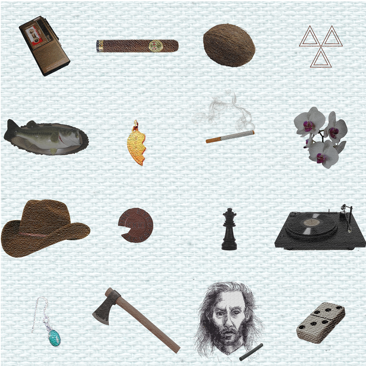 The Men of Twin Peaks, represented by  visual clues