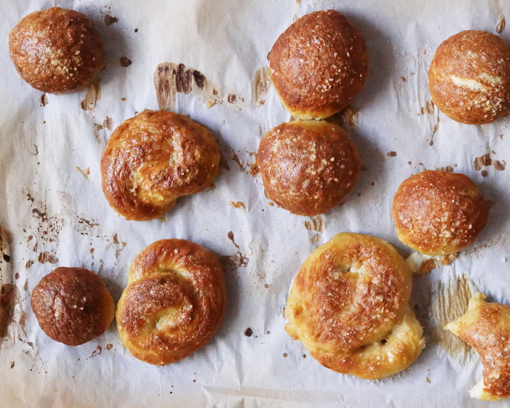 Cure the Hangries: Easy Pretzel Roll Recipe 5   The Spice Girl Blog