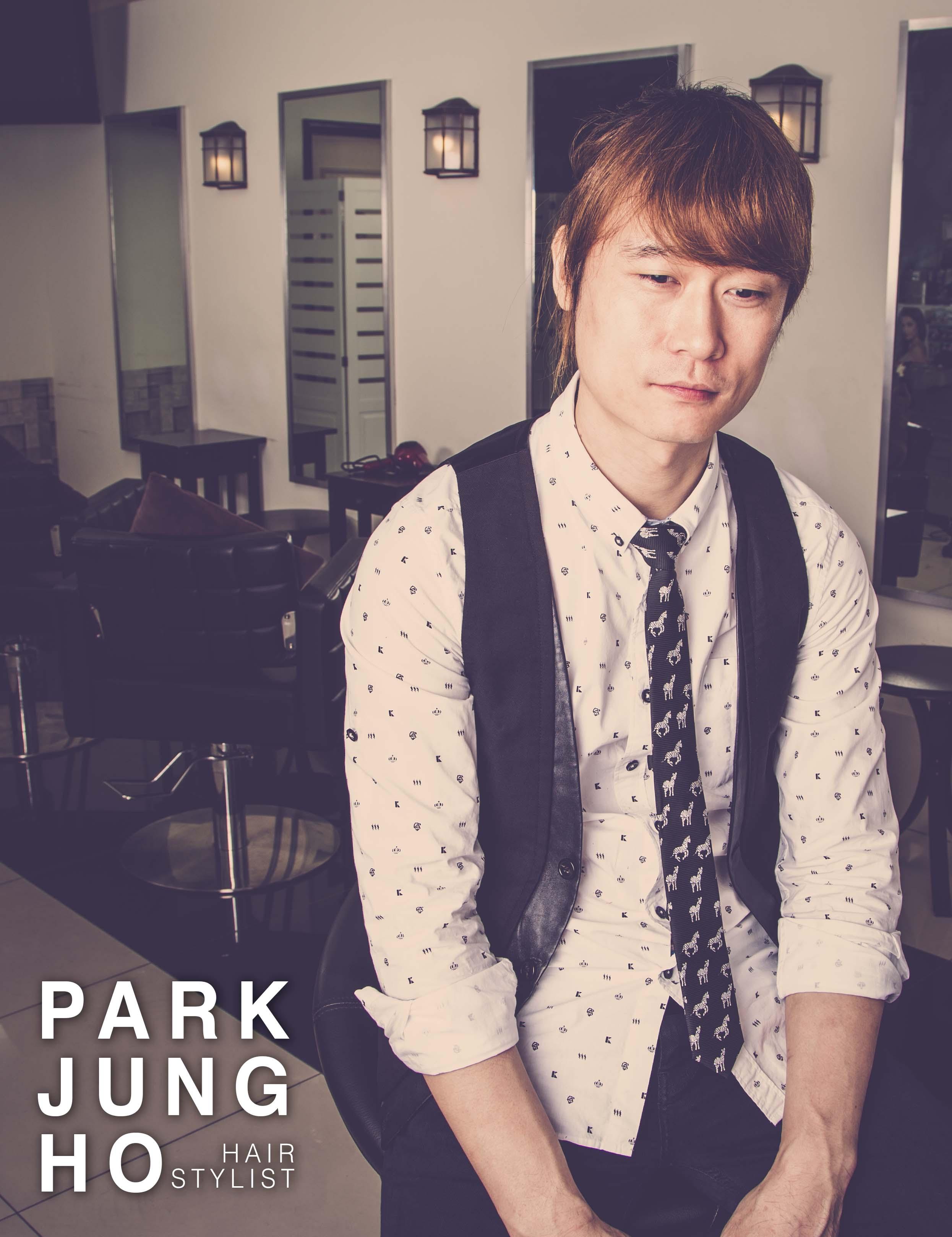 Park Jung Ho, Korean Hair Stylist in Penang