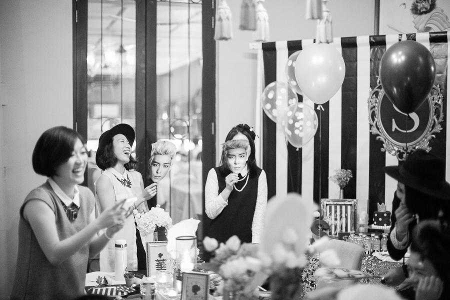 Fun vintage birthday Penang Photographer