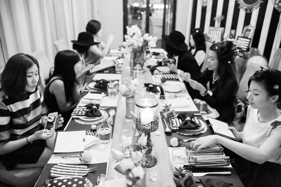 Vintage Dinner Theme Penang Photographer