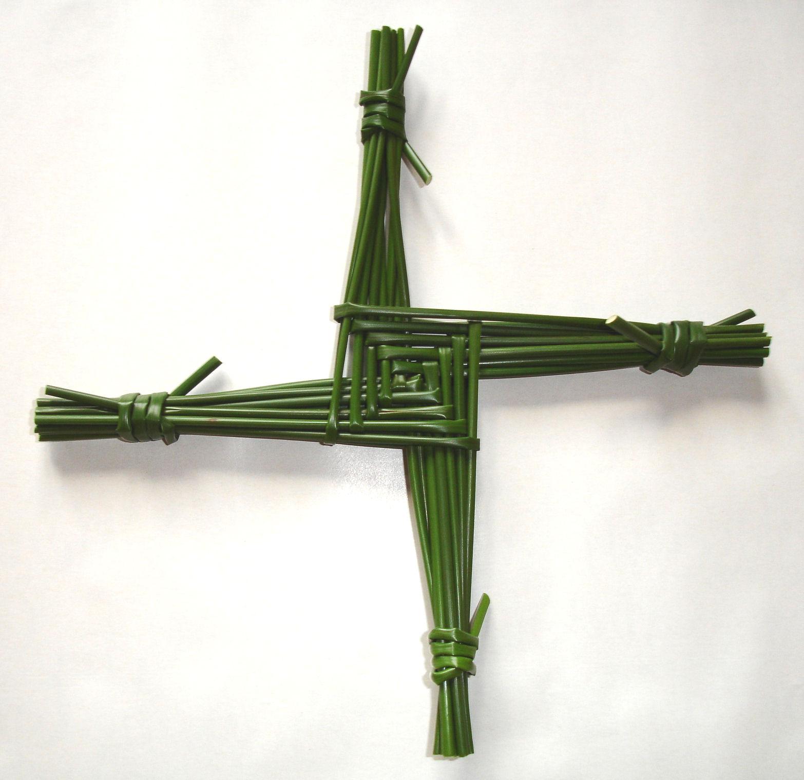 Traditional Irish St Brigid's Cross