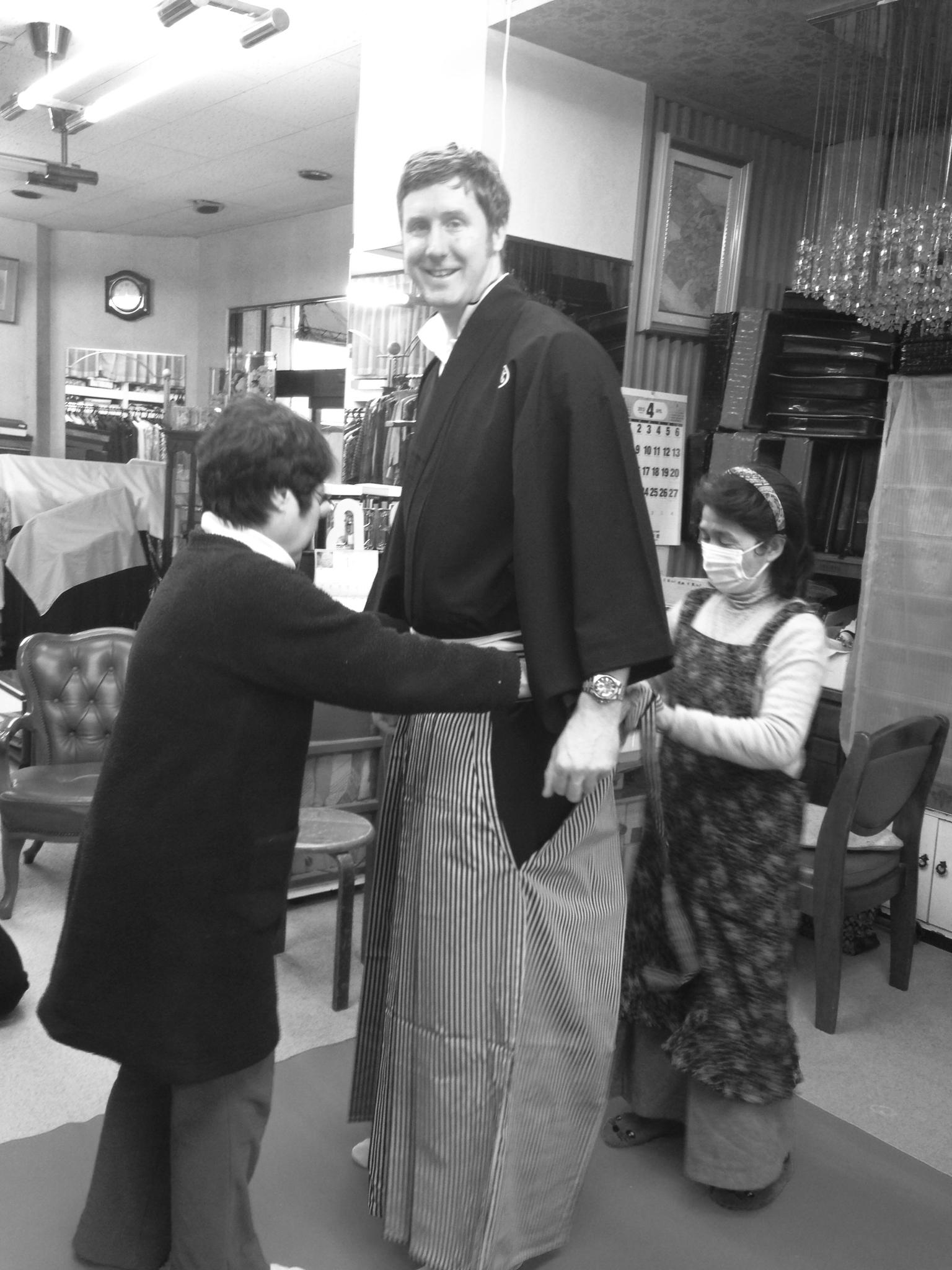 お相撲さんサイズな袴