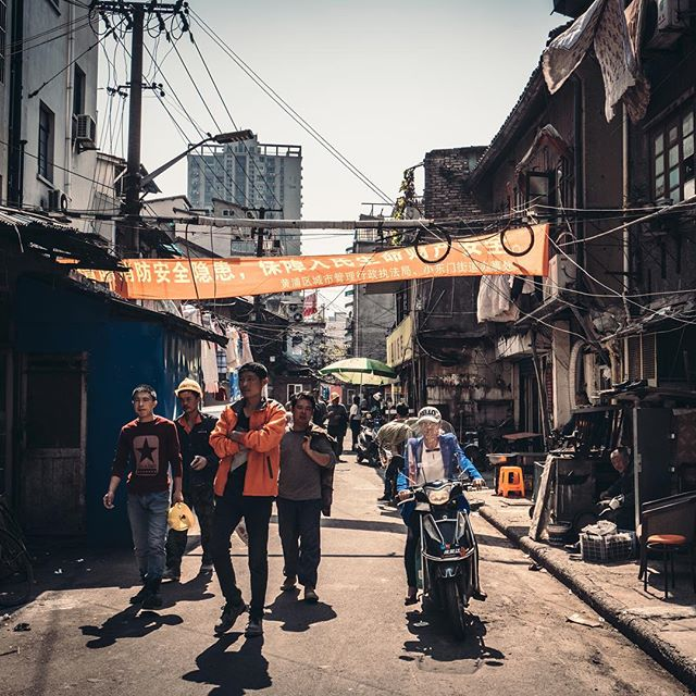 Lost down an old lane in #Shanghai