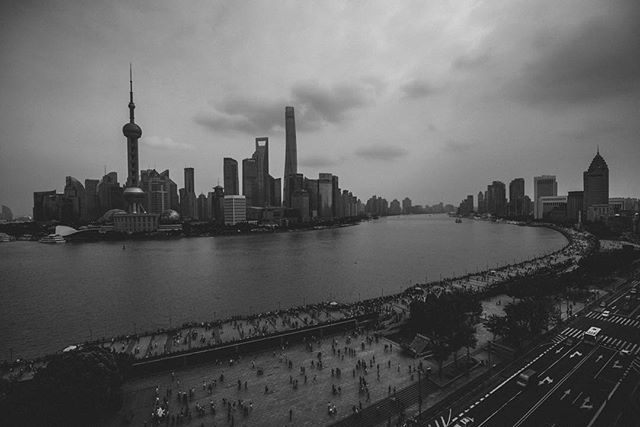 Took this from up on the #fairmont #peacehotel #Shanghai