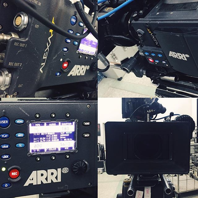 Tomorrow is gong to be a good day. #arrialexa #Shanghai #filmmaking