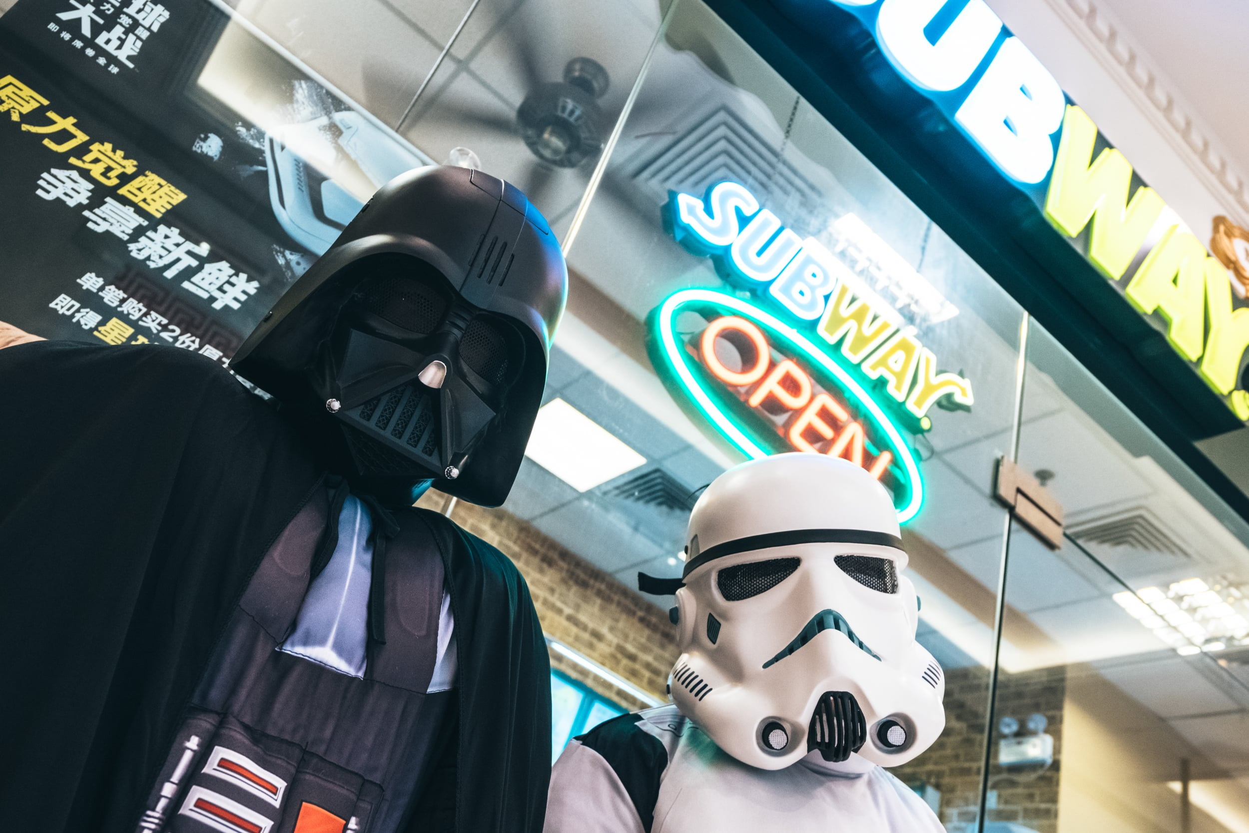 subway, star wars promo