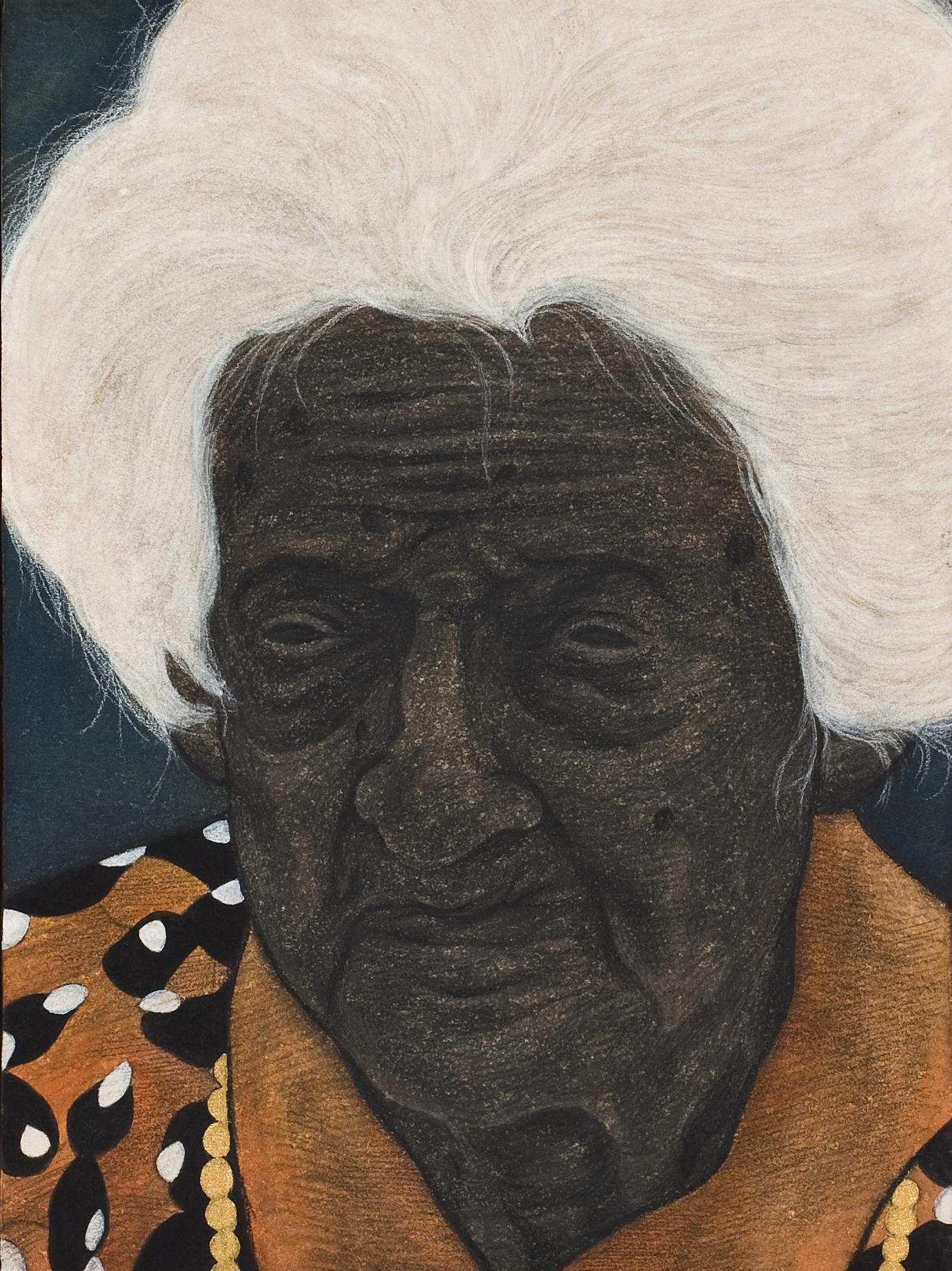 기네스북에 오른 최고령 할머니의 초상