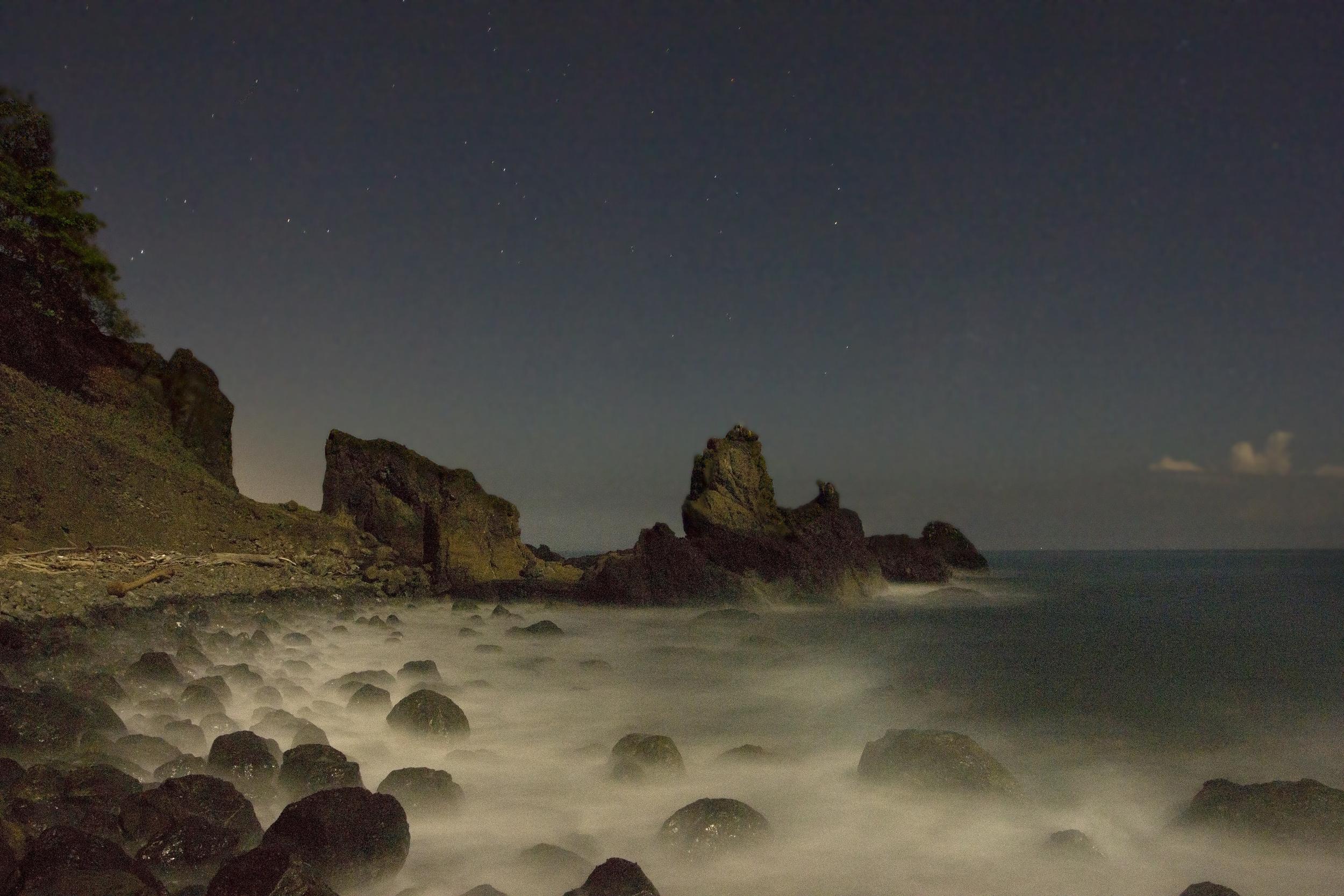 La Herradura at full moon