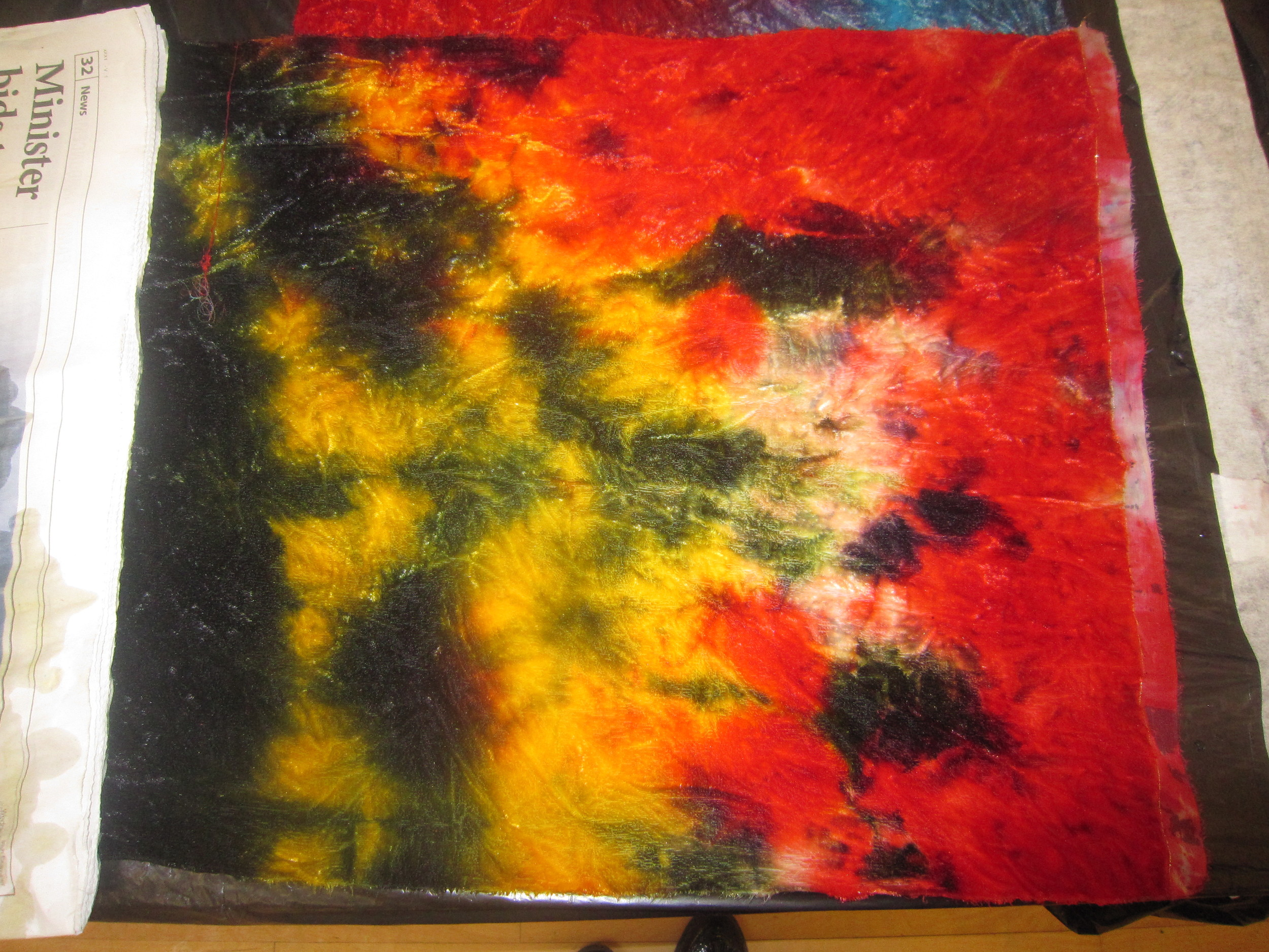 Fabric Dyeing and Painting Workshop - 2015