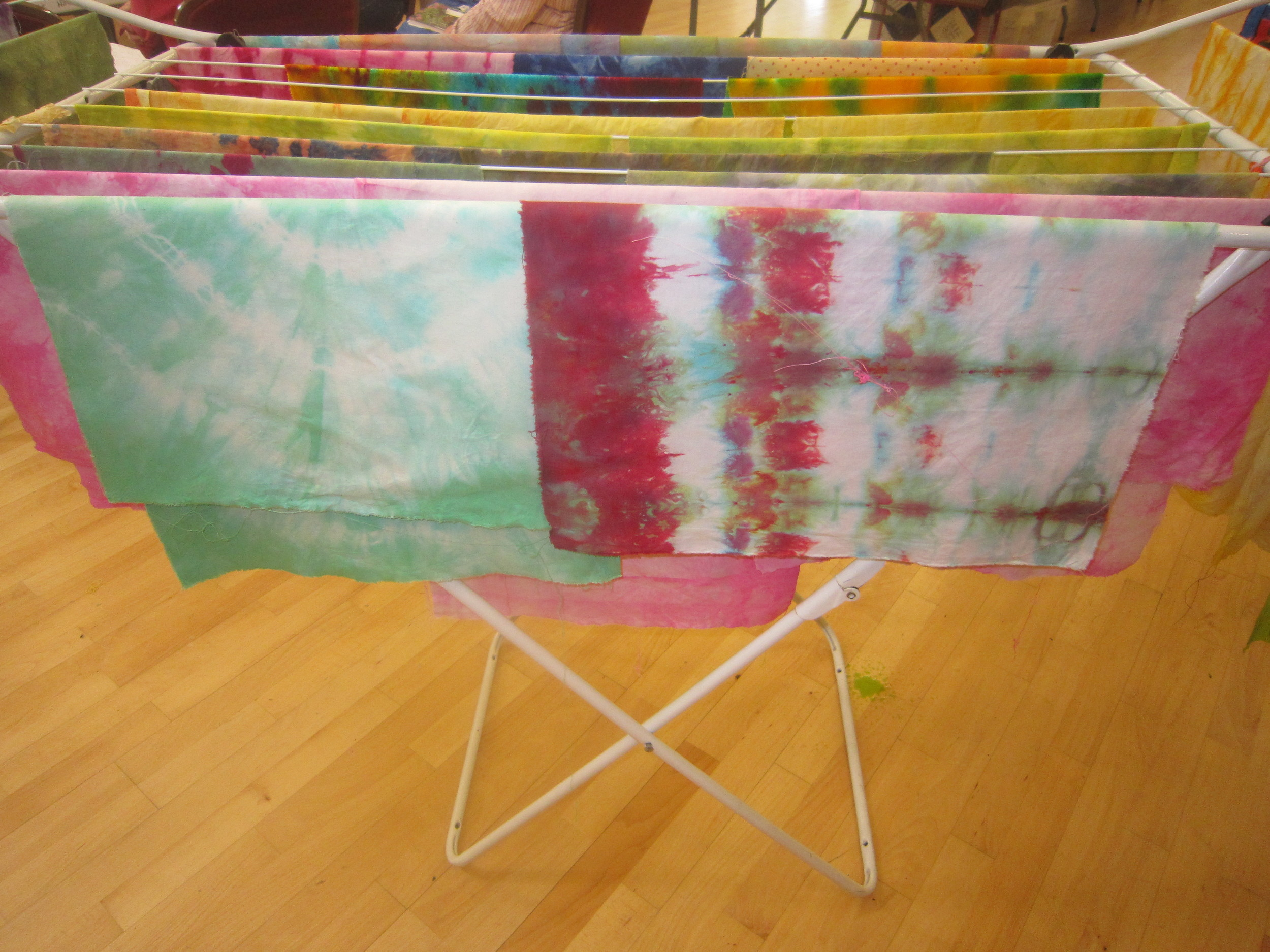 Fabric Dyeing and Painting Workshop - May 2015