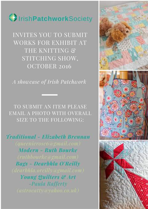 Call for Quilts - IPS - Knitting & Stitching Show 2016