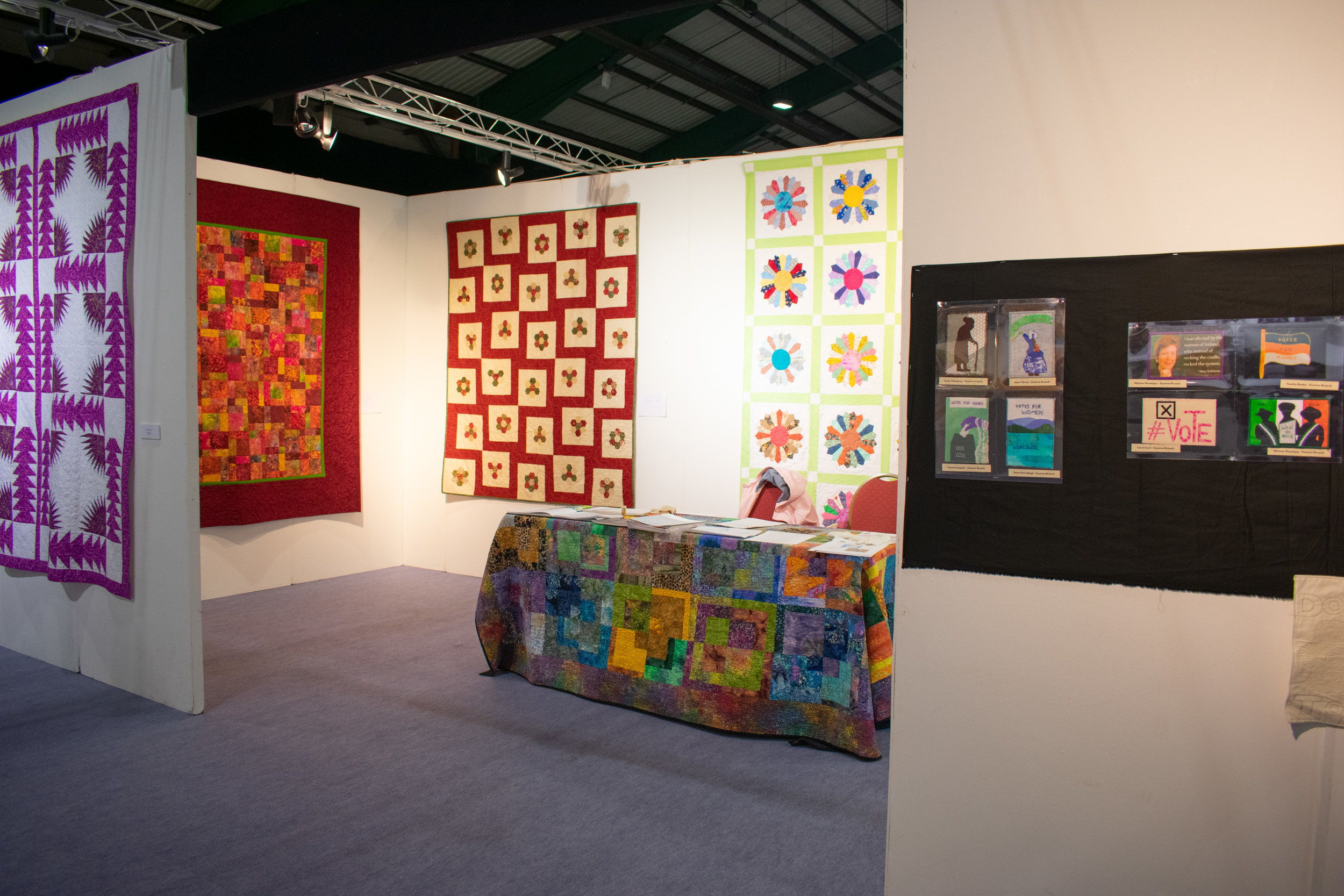 Knitting and stitching show 2018