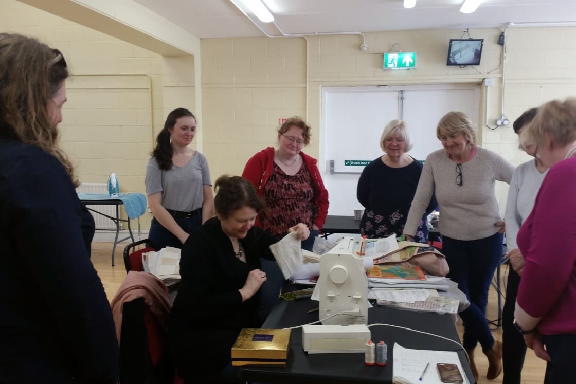 WALKING FOOT QUILTING WORKSHOP 13/04/19