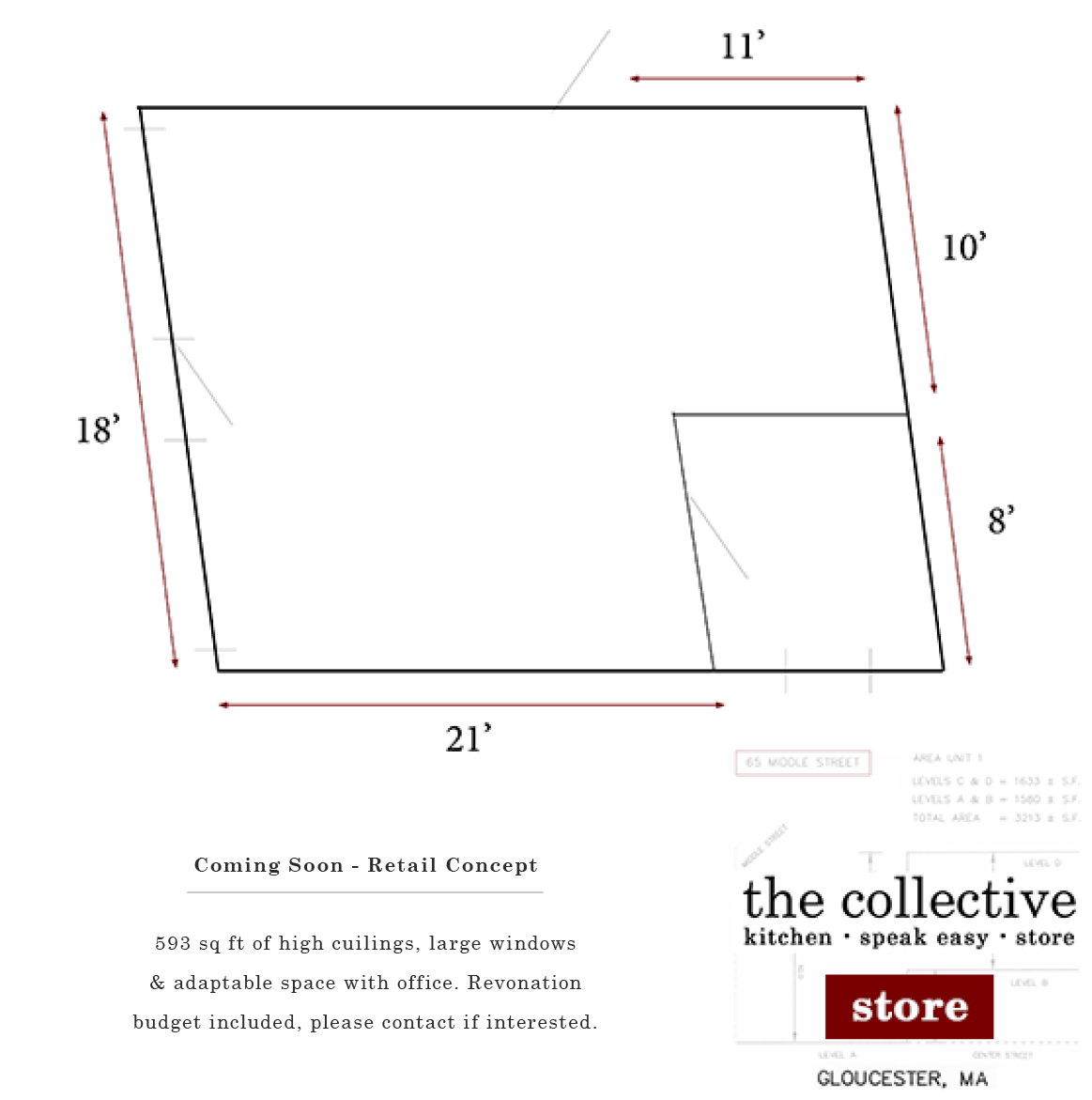 Retail Concept for the collective llc - 2015
