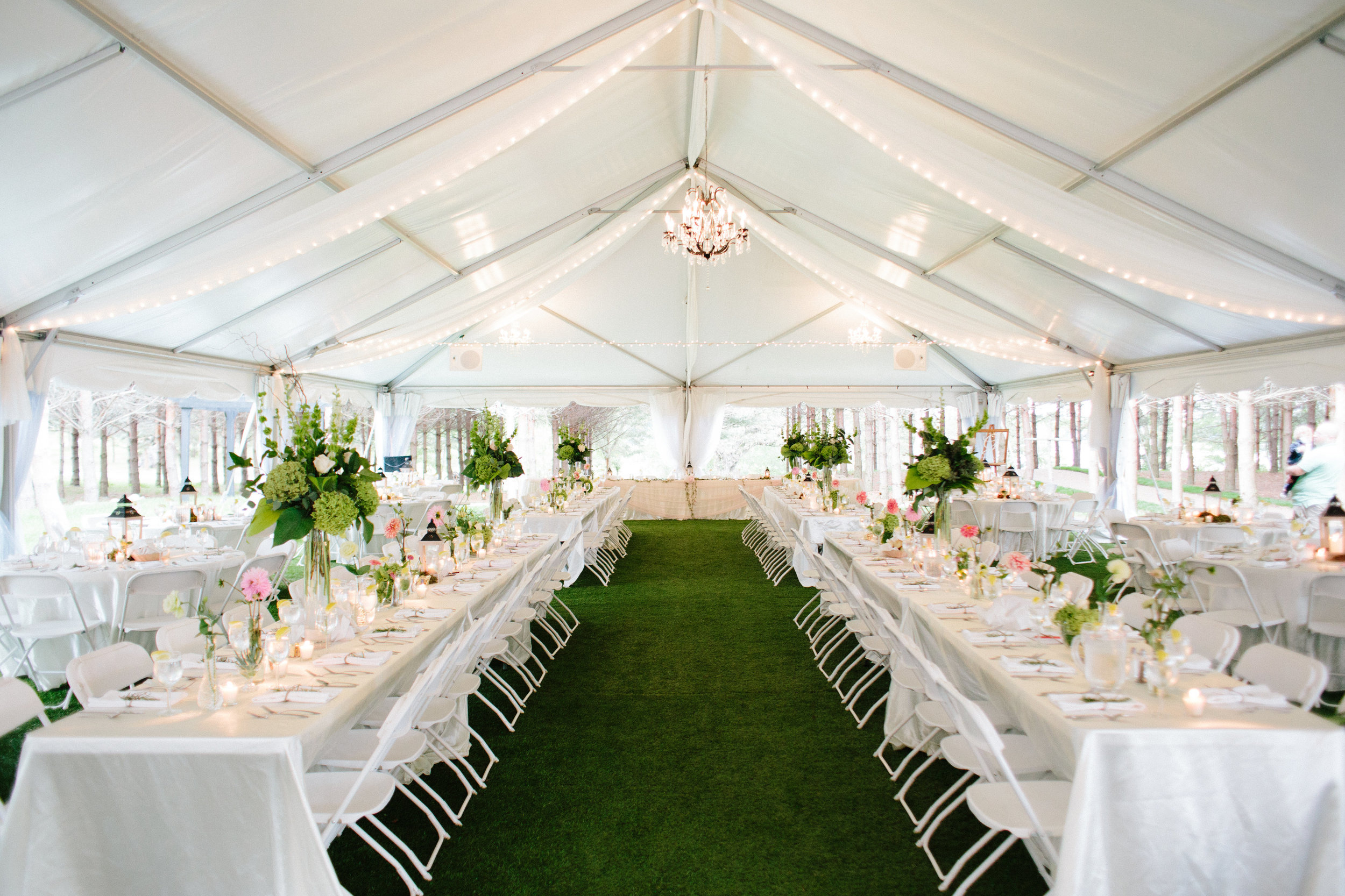 The tents at Stonewall Farms