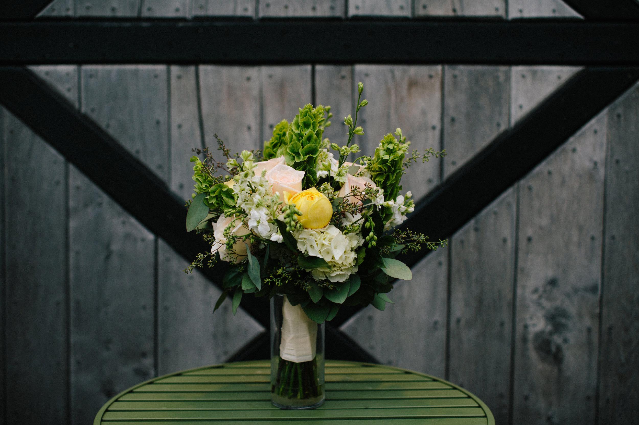 Cassandra's garden bouquet