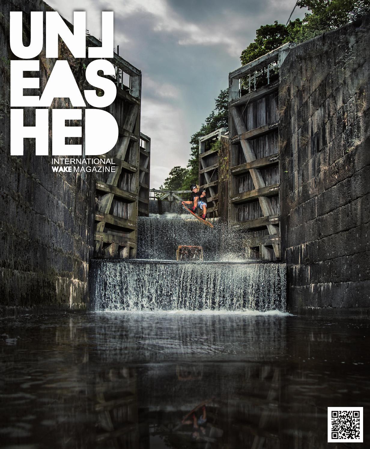 Cover, Unleashed Wake Magazine, 2016