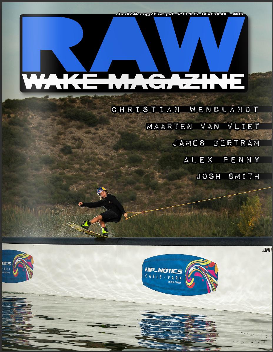 Cover, Raw Wake Magazine, 2015