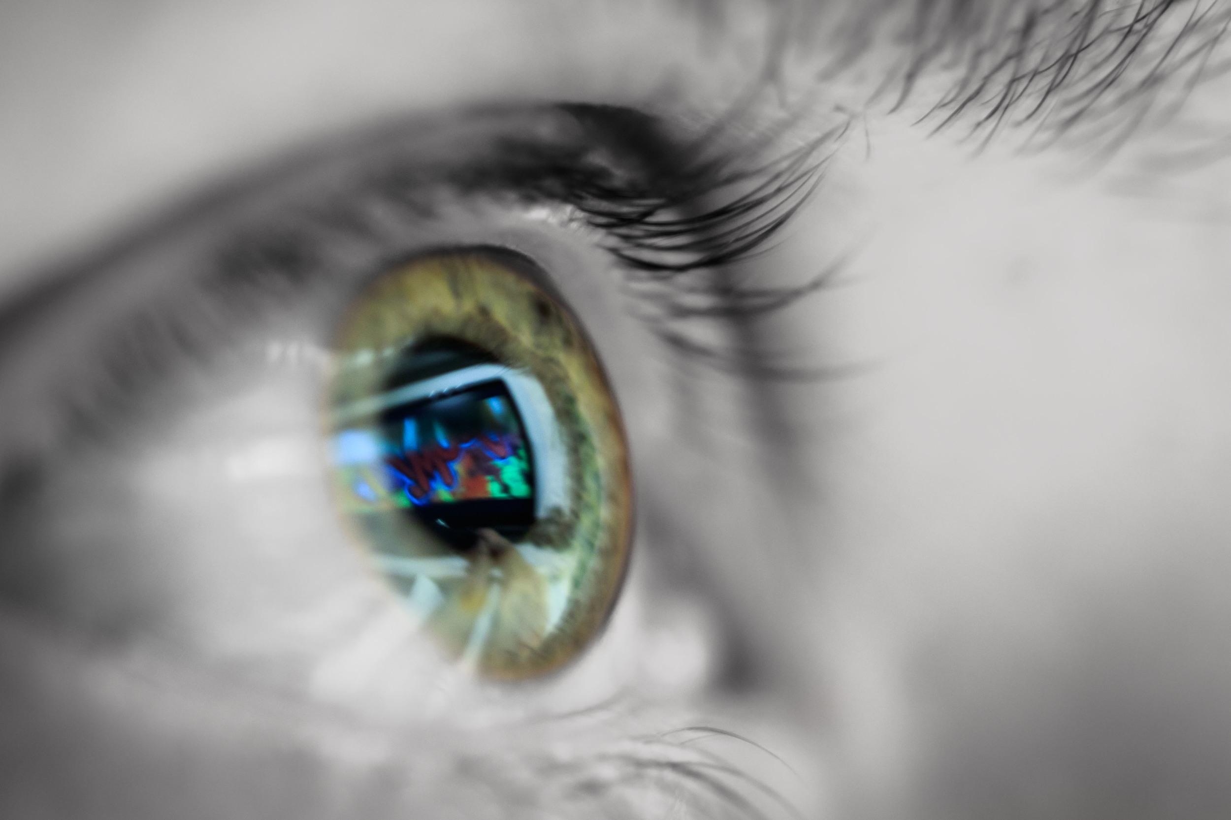 Eye sight.