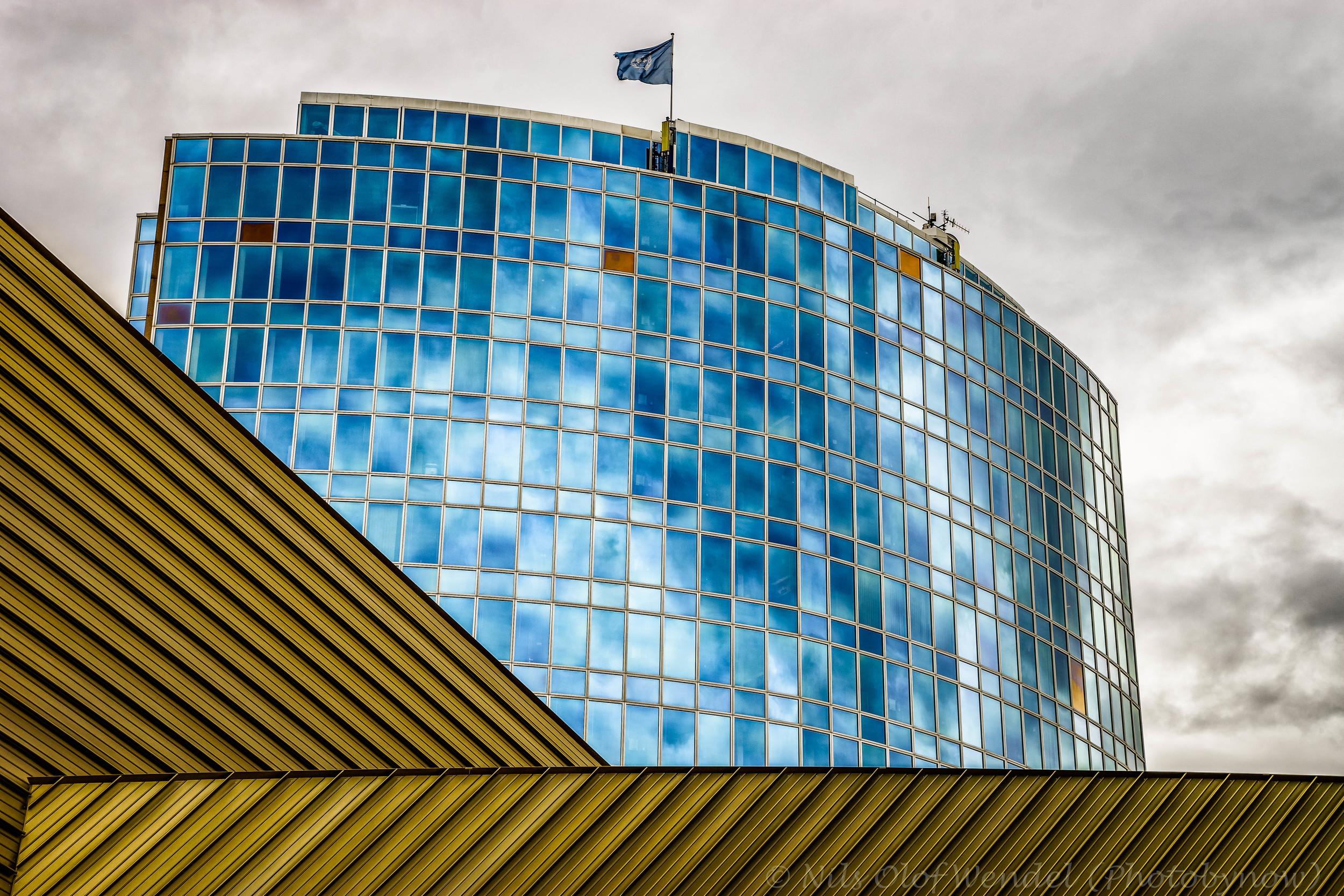 UNHCR Building in Geneva.
