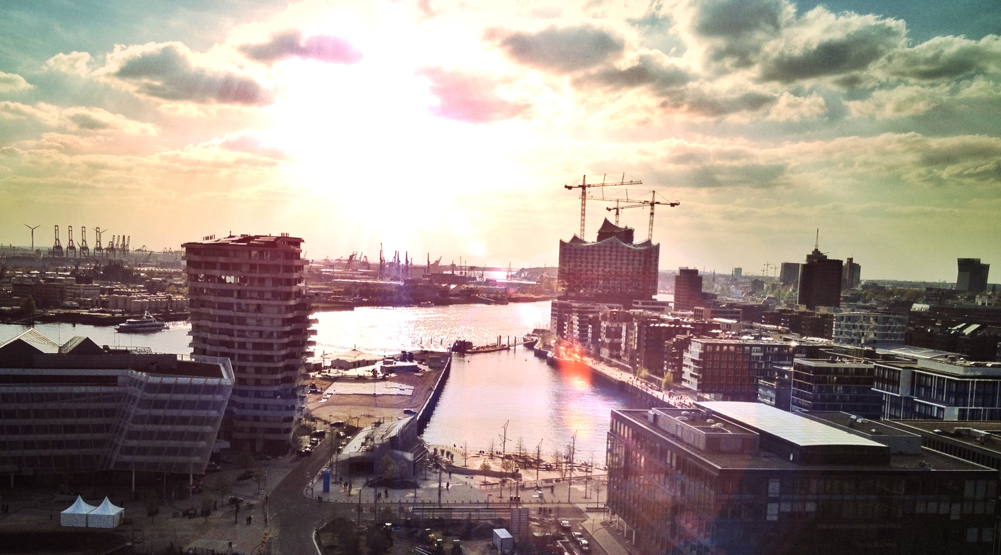 Hafencity of Hamburg