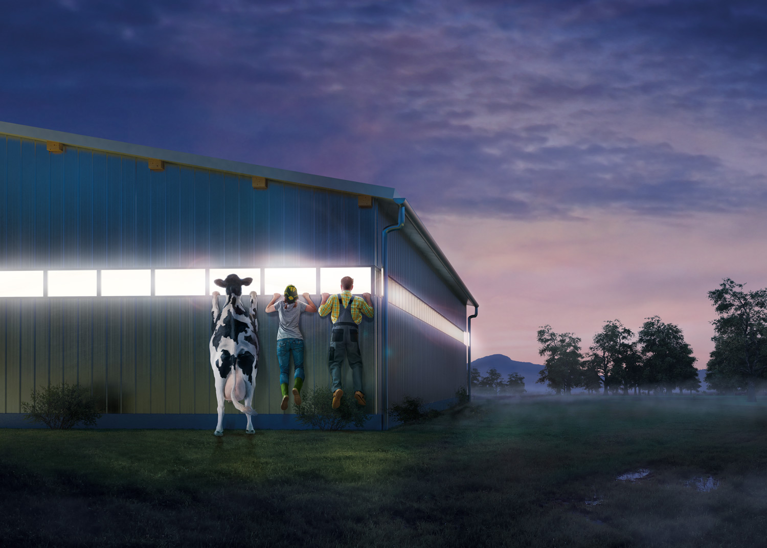 GEA FARM TECHNOLOGIES: MODERN COWSHED
