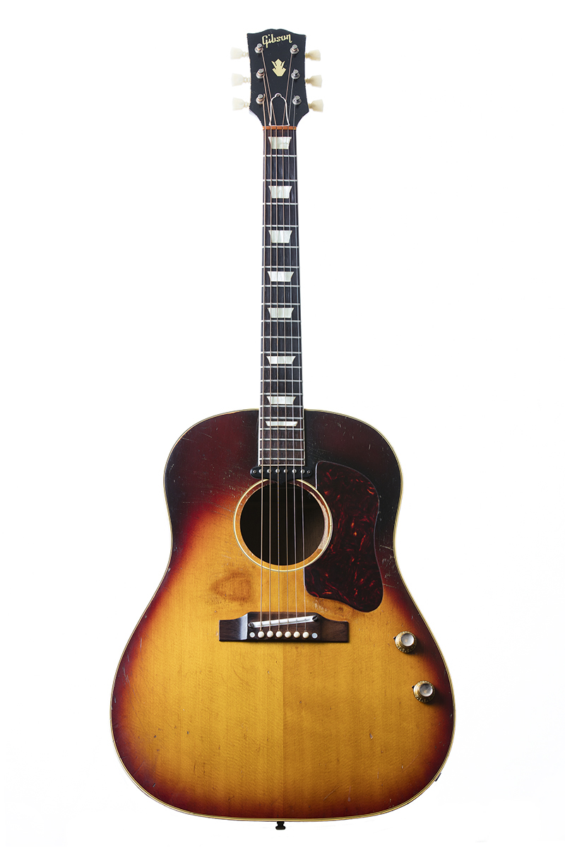 John McCaw purchased this Gibson J-160E from a friend in 1969.