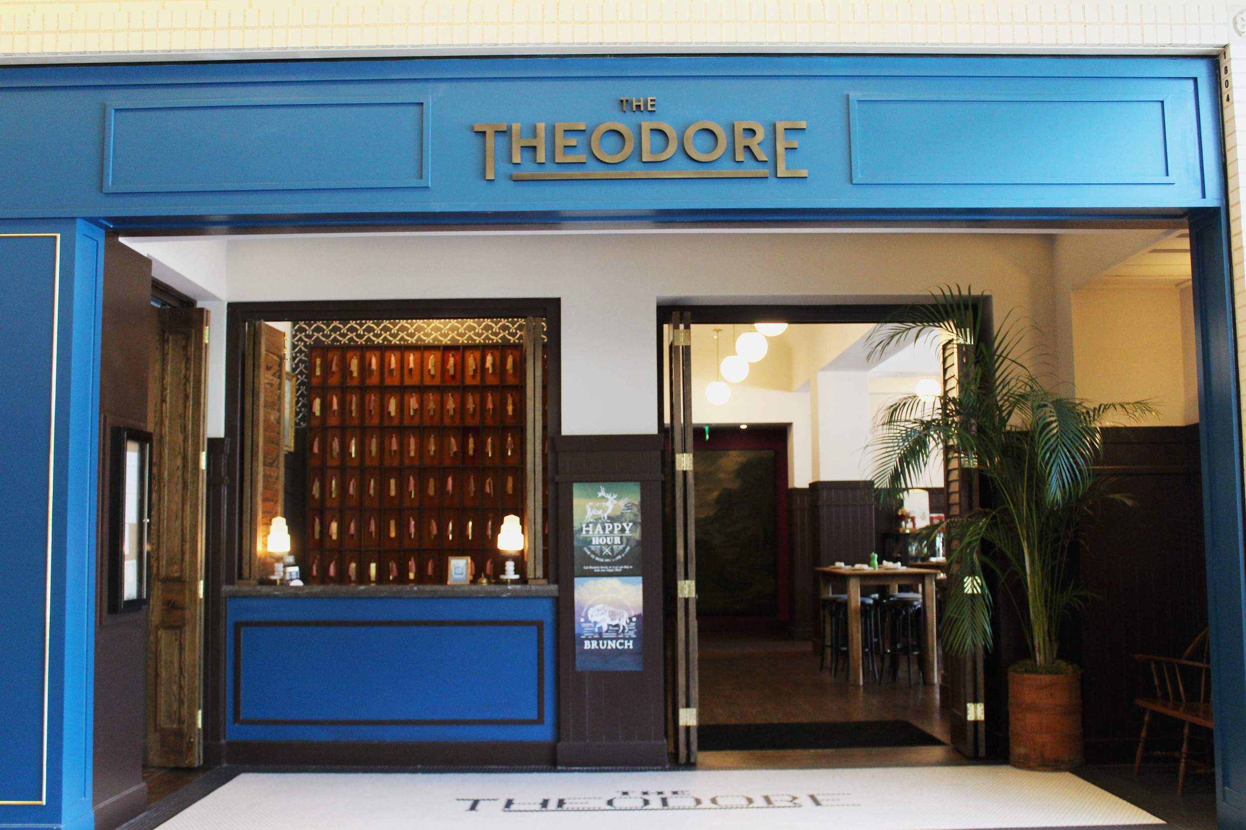 The Theodore Dallas lobby