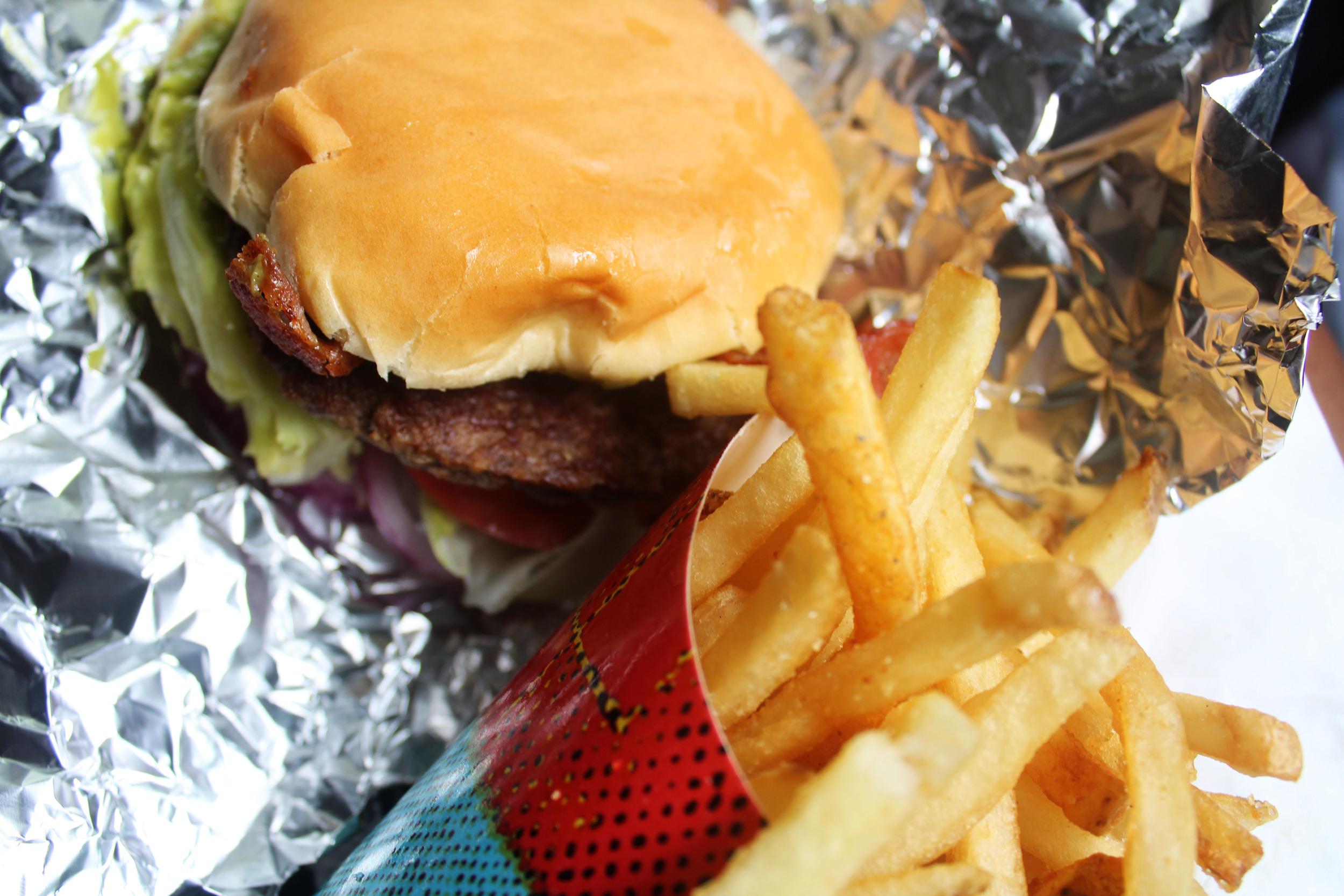 Good Times Guacamole Bacon Burger