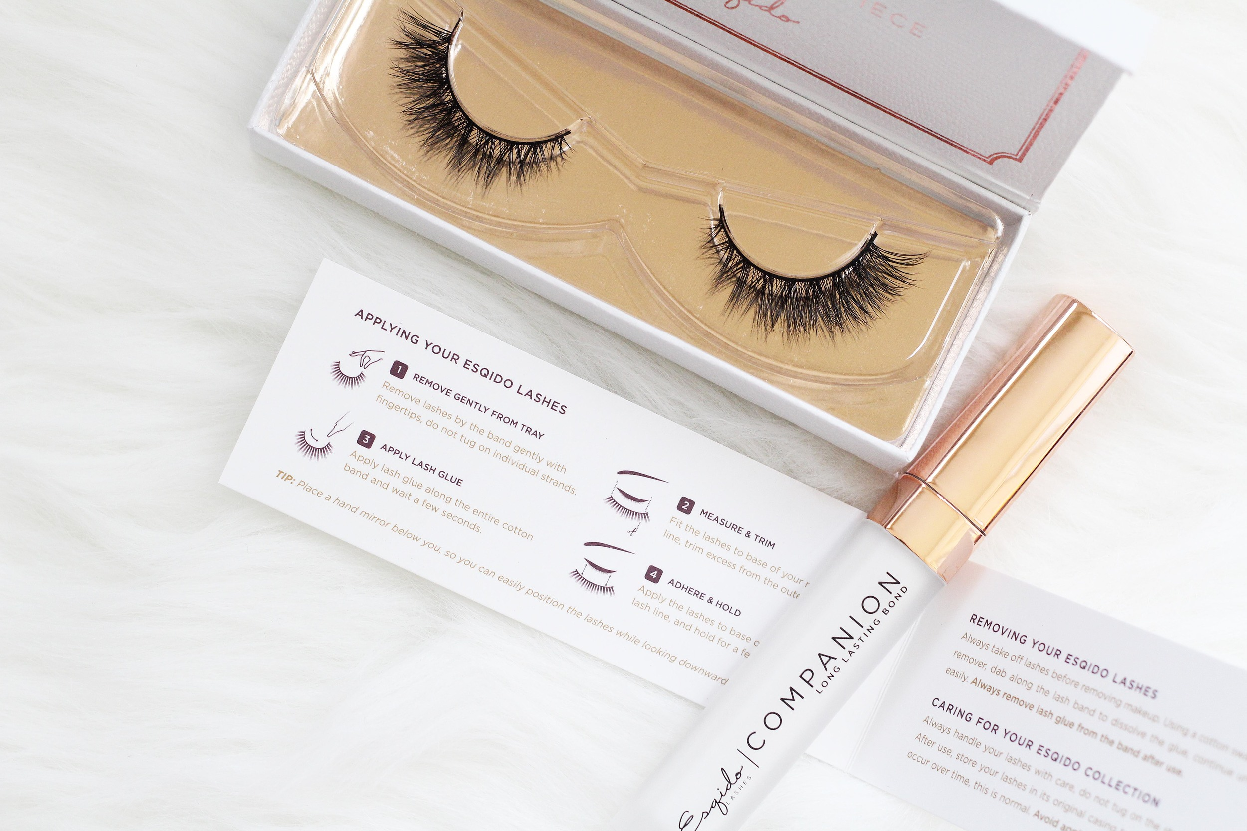 Photographed: Lash Named Desire with Companion Long Lasting Bond
