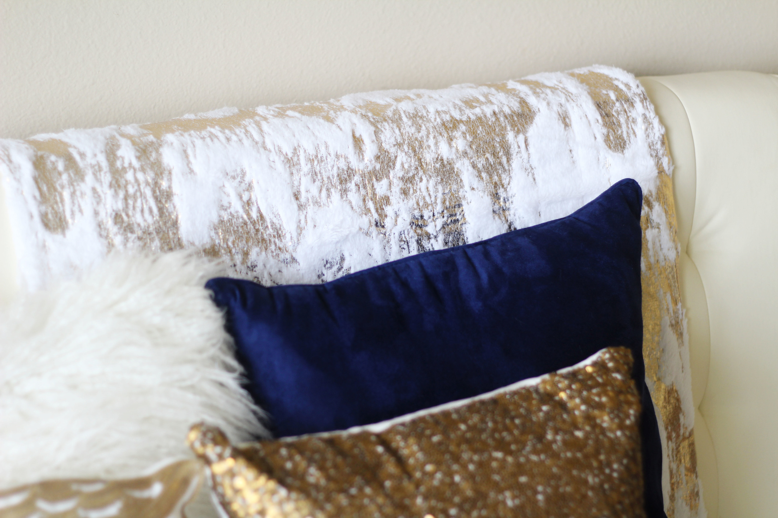 Decorative Fur Throw ($29.99)