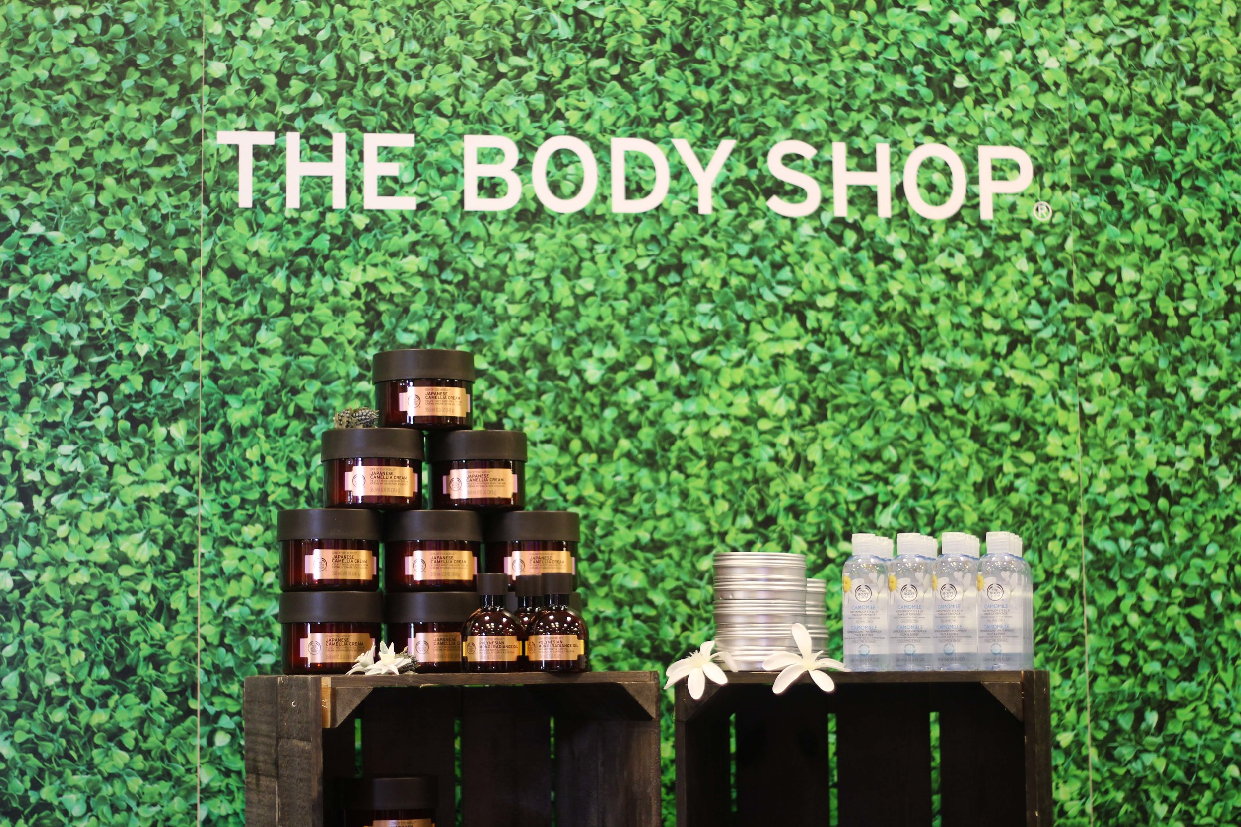 The Body Shop at The Makeup Show Dallas