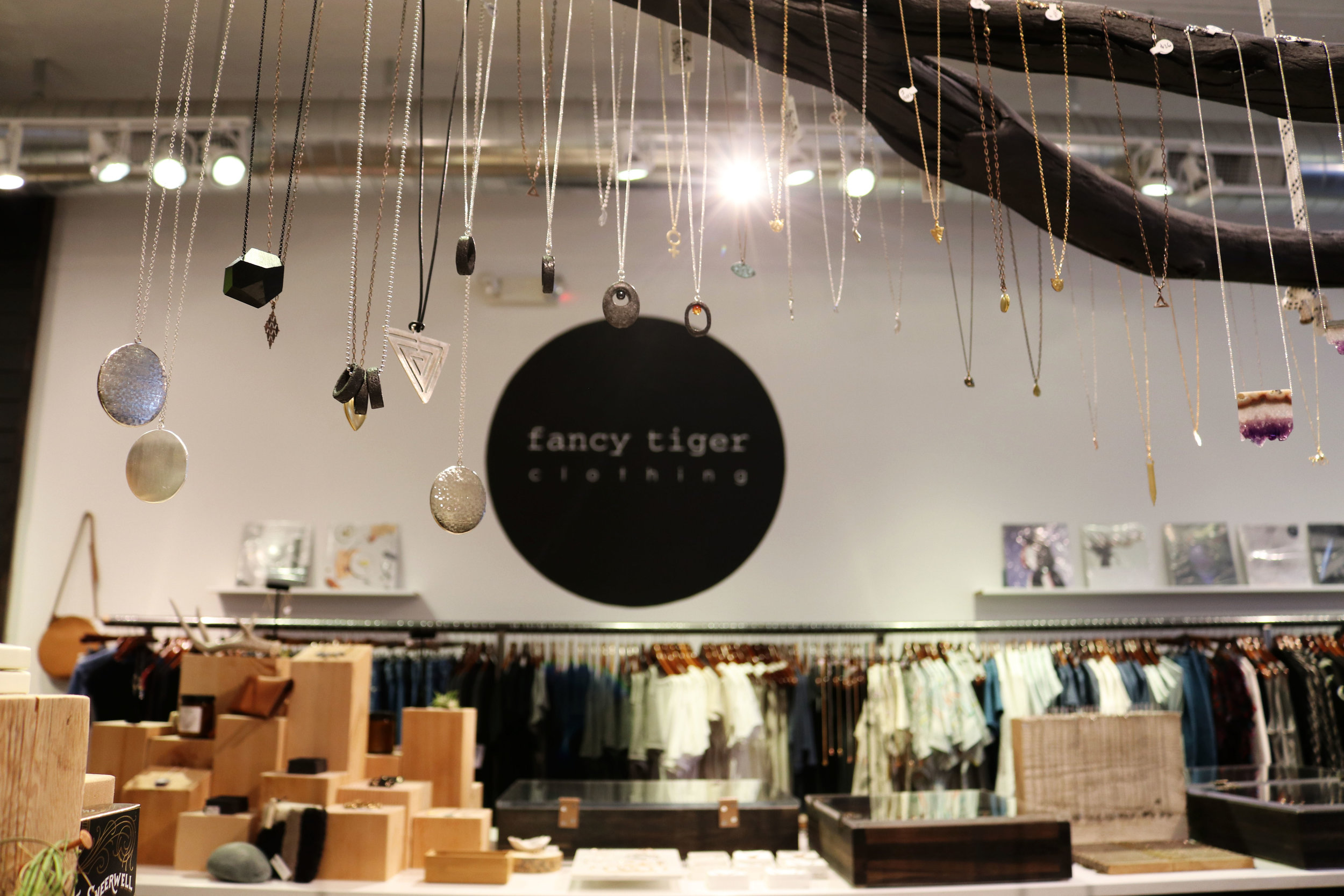 We went to Buffalo Exchange, a comic book store/coffee shop, and a boutique called Fancy Tiger Clothing. I'm obsessed with skincare, so when I saw that Fancy Tiger had some indie brands I'd never heard of before...I was all in.