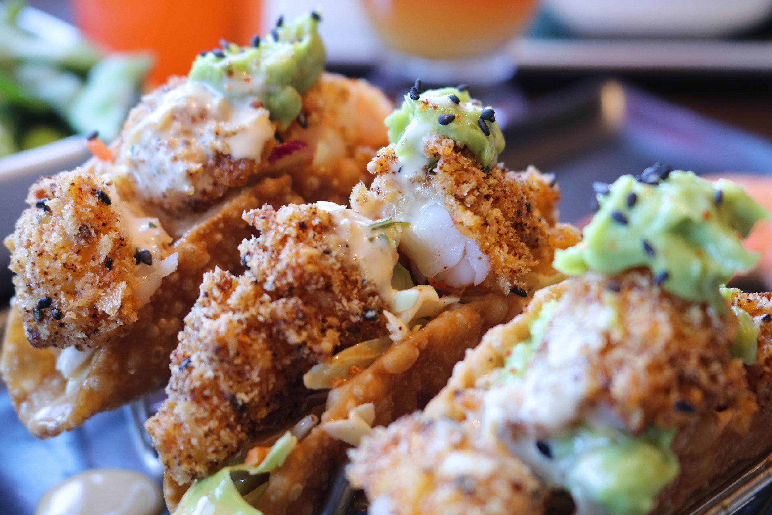 """""""RA""""CKIN Shrimp Tacos"""