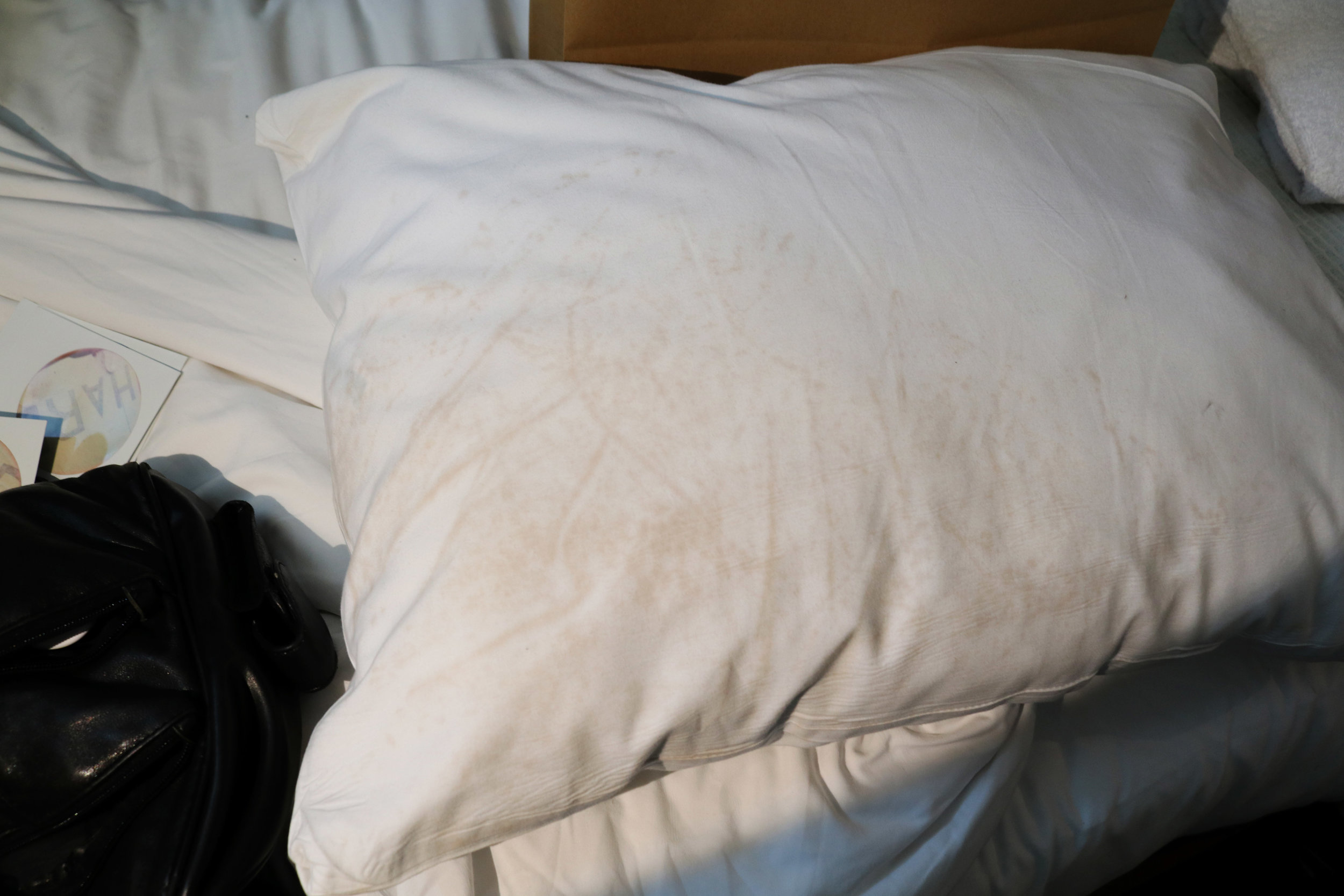 Catahoula Hotel New Orleans dirty pillow