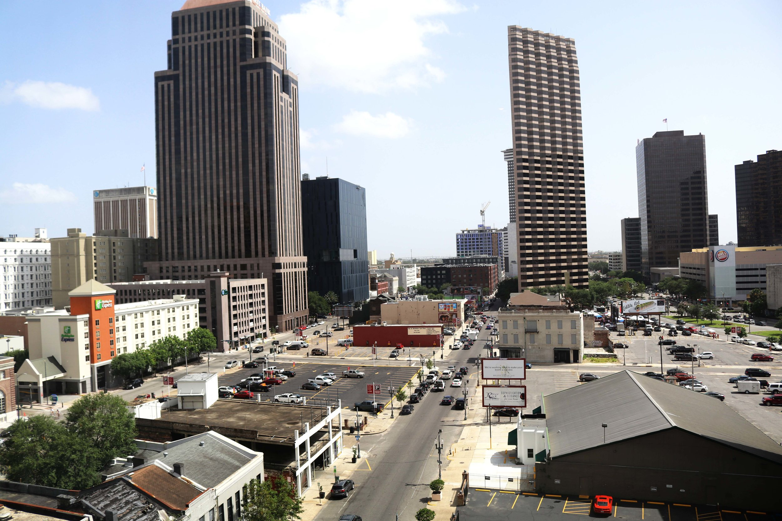 Neighborhood View of Downtown New Orleans