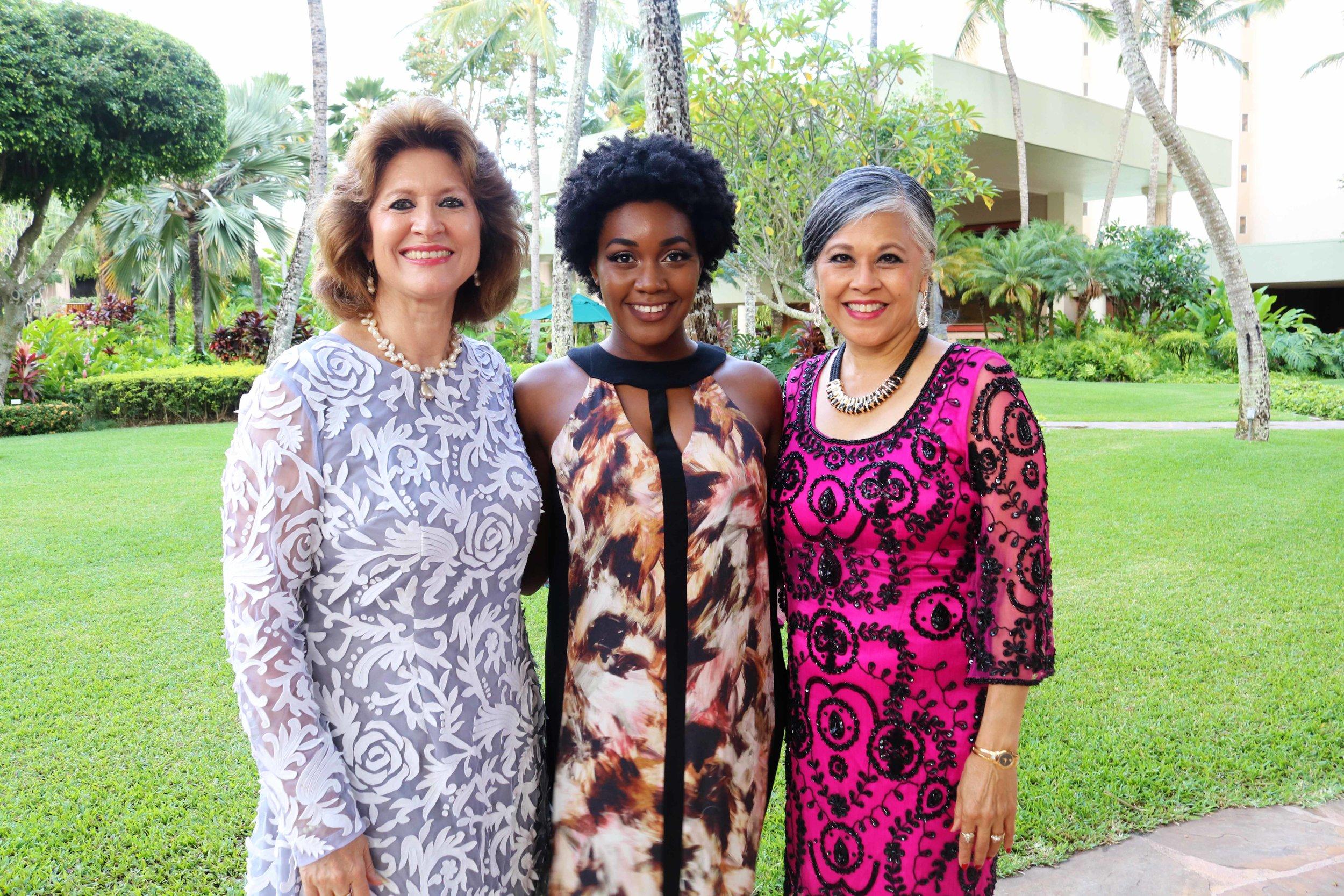 Prior to the show with Sue Kanoho, Executive Director of the Kauai Visitors Bureau