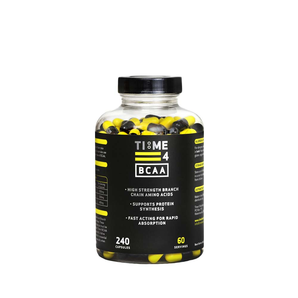 BCAA - Found naturally in foods. Branch chain amino acids are the most abundant in muscle cells. Taken around training they can help with muscle recovery and growth. Taken prior to cardio they have also now been shown to increase the fat burning and so reduction process. Win-win!Price £20 for 240 capsules.