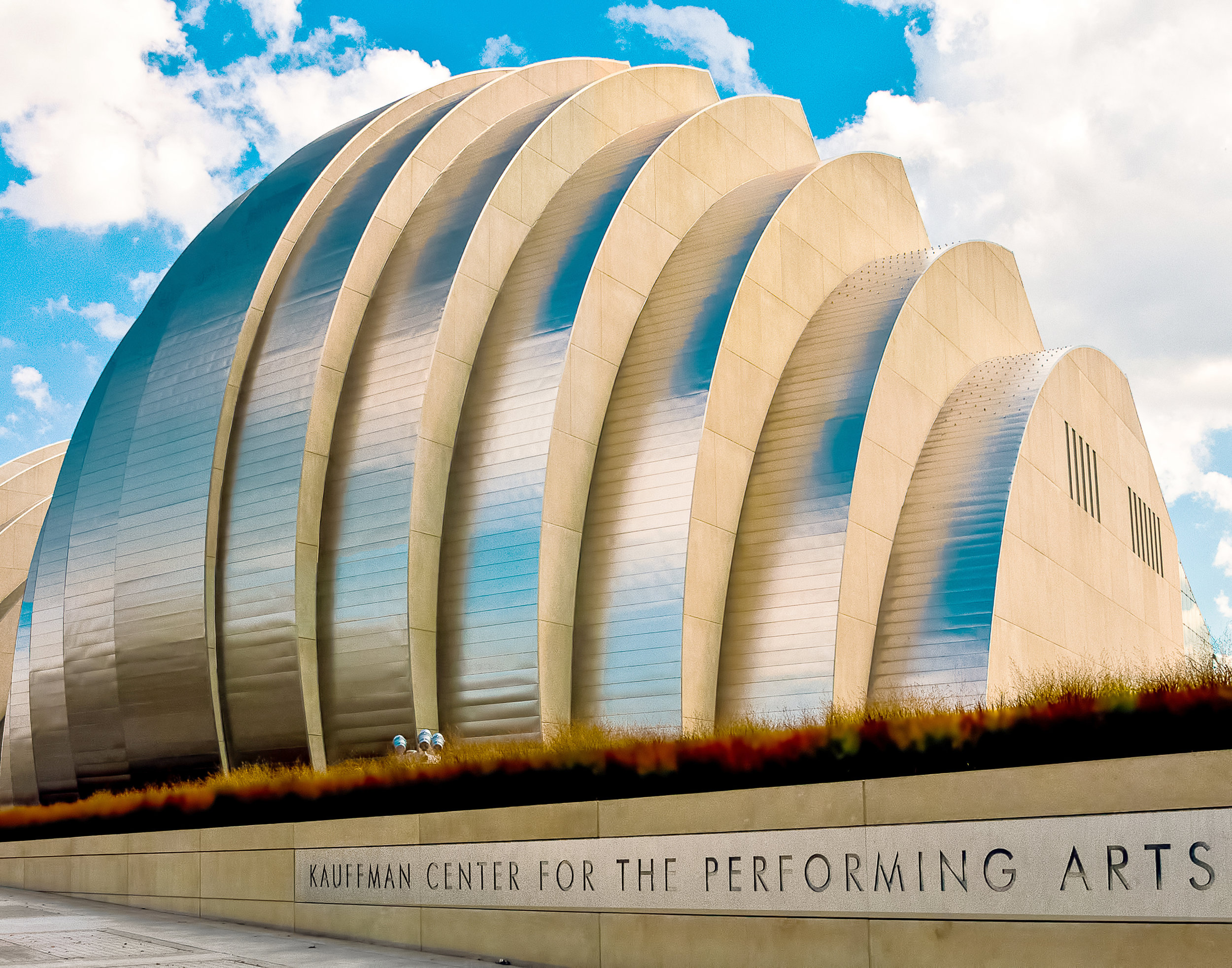 Kauffman Center for the Preforming Arts - Kansas City, MO